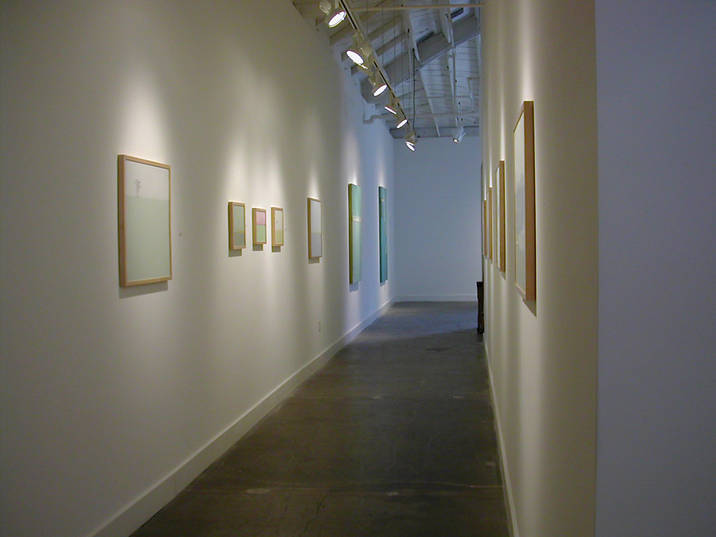 Bill Lowe Gallery Installation, Santa Monica, CA 2004